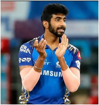 Jasprit Bumrah is a right arm fast bowler for Mumbai Indians in IPL.