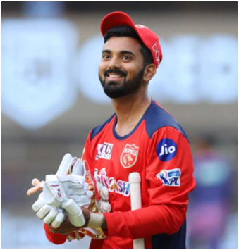 KL Rahul is an Indian international cricketer who captains Punjab Kings in the IPL