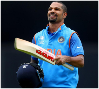 Shikhar Dhawan A left-handed opening batsman plays for Delhi in first-class cricket and Delhi Capitals in the IPL.